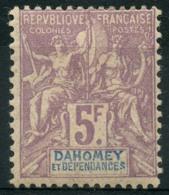 Dahomey (1901) N 17 * (charniere) - Unused Stamps