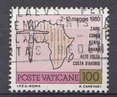 Vatikaan 1981  Mi.nr. 793 Weltreisen Von Papst Johannes Paul II   OBLITÉRÉS-USED-GEBRUIKT - Vatican