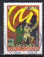 2004 Blake Et Mortimer La Marque Jaune N° Yvert 3669 - Used Stamps