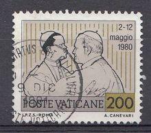 Vatikaan 1981  Mi.nr. 796  Weltreisen Von Papst Johannes Paul II   OBLITÉRÉS-USED-GEBRUIKT - Vatican