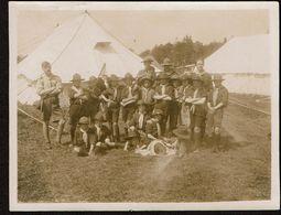 C1920 - Photo 10,5 Cm X 8 Cm - Groupe De Scouts - Camp - 2 Scans - Pfadfinder-Bewegung