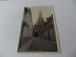 Asse;assche Ingang Sint Martinuskerk En Kerkstraat - Asse