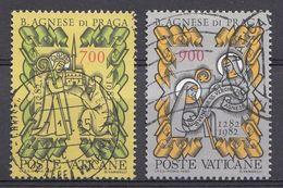 Vatikaan 1982  Mi.nr. 803-804 Todestag Der Seligern Agnes Von Böhemen  OBLITÉRÉS-USED-GEBRUIKT - Vatican