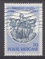 Vatikaan 1983  Mi.nr. 826 Geburtstag Von Raifaello Sanzio   OBLITÉRÉS-USED-GEBRUIKT - Vatican