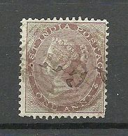 EAST INDIA Ostindien 1865 Queen Victoria 1 Anna Michel 19 O - India (...-1947)