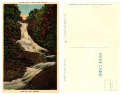 Upper Falls In White Oak Canyon Near Skyland, Virginia (8225) - United States