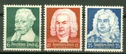 Deutsches Reich 573/75 ** Postfrisch - Allemagne