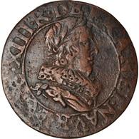 Monnaie, France, Louis XIII, Double Tournois, 1634, Tours, TB+, Cuivre, CGKL:440 - 987-1789 Royal