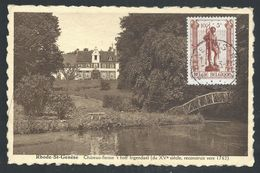 +++ CPA - RHODE SAINT GENESE - Château Ferme 't Hoff Ingendael    // - Rhode-St-Genèse - St-Genesius-Rode