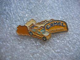 Pin's Courses, Rallyes Automobiles: Racing Service Avec Sponsor CAMEL - Rally