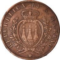 Monnaie, San Marino, 5 Centesimi, 1894, Rome, TTB, Cuivre, KM:1 - Saint-Marin