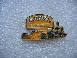 Pin's Courses, Rallyes Automobiles F1: Racing Service Avec Sponsor CAMEL - Rally