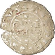 Monnaie, France, Champagne, Guillaume I, Denier, 1176-1202, Reims, TB, Argent - 476-1789 Monnaies Seigneuriales