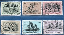 Luxemburg 1952 Olympic Games Helsinki Cancelled 6 Values 2006.2025 Fencing, Cycling, Water Polo, Football, Boxing - Sommer 1952: Helsinki