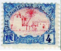 Cote Des Somalis 1902 Mosquée 4c  YT 39 - Französich-Somaliküste (1894-1967)