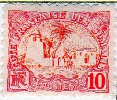 Cote Des Somalis 1902 Mosquée 10c  YT 41 - Französich-Somaliküste (1894-1967)