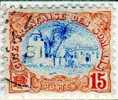 Cote Des Somalis 1902 Mosquée 15c  YT 42 - Französich-Somaliküste (1894-1967)