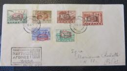 GREECE- VERY NICE COVER- 500 € ON SASSONE CATALOGUE - Postal Stationery