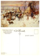 Indian Hunter's Return, Helena, Montana (8592) - Native Americans