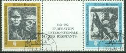 DDR 1680/81 Dreierstreifen O Tagesstempel - DDR