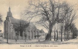 77-NANGIS-EGLISE SAINT MARTIN-N°T2412-C/0017 - Nangis