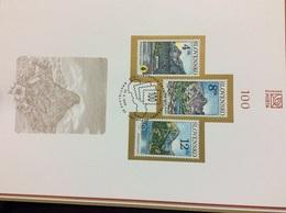 Feuillet Commémoratif 1996 NL24 Paysages De Montagne Et Lac Slovaque Tatras - Slovacchia