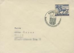 Deutsches Reich 1942 Deutsches Derby 814 Sonderstempel Auf Brief (X18126) - Germania