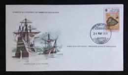 Ascension, Uncirculated FDC , « SHIPS », 1979 - Ascensión