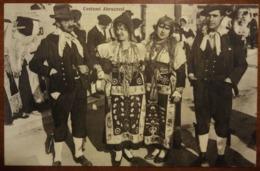 Folclore - Costumi Abruzzesi - Abruzzo, Sulmona - Abiti Tradizionali - 1934 - Viaggiata - Animata - Italy