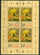 DDR 3271 Kleinbogen O Tagesstempel Werder - DDR