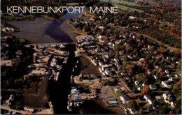Maine Kennebunkport Greetings Aerial View - Kennebunkport