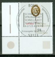 BRD 2999 Eckrand Unten Links O Sonderstempel Bonn - [7] Repubblica Federale