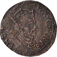 Monnaie, France, Artois, Philippe II, Liard, 158(-), Arras, TB+, Cuivre - 476-1789 Monnaies Seigneuriales