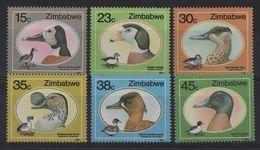 Zimbabwe - N°164 à 169 - Faune - Oies Et Canards - Cote 7€ - * Neufs Avec Trace De Charniere - Zimbabwe (1980-...)