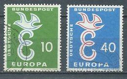 Allemagne YT N°164/165 Europa 1958 Oblitéré ° - Europa-CEPT