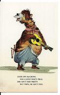 "WALT DISNEY WORLD : ORIGINAL SKETCHES FOR ""THE COUNTRY BEAR JAMBOREE"" - Liver Lips McGrowl. CPSM. - Disneyworld"