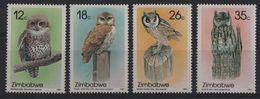 Zimbabwe - N°134 à 137 - Faune - Chouettes - Cote 14€ - * Neufs Avec Trace De Charniere - Zimbabwe (1980-...)
