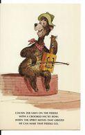 "WALT DISNEY WORLD : ORIGINAL SKETCHES FOR ""THE COUNTRY BEAR JAMBOREE"" - Cousin Zeb. CPSM. - Disneyworld"