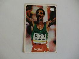 Atletismo Said Aquita Portugal Portuguese Pocket Calendar 1986 - Calendriers