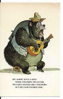 "WALT DISNEY WORLD : ORIGINAL SKETCHES FOR ""THE COUNTRY BEAR JAMBOREE"" - Big Albert. CPSM. - Disneyworld"