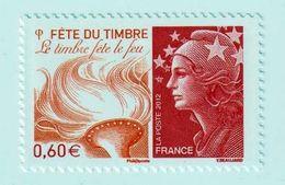 TIMBRE -  2012  -n°  4688  - Fête Du Timbre - Le Timbre Fête Le Feu -  Neuf Sans Charnière - France