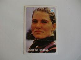 Jenna De Rosnay Portugal Portuguese Pocket Calendar 1986 - Calendriers
