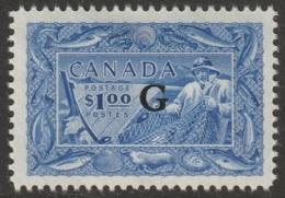 Canada Sc O27 Official MH - Officials