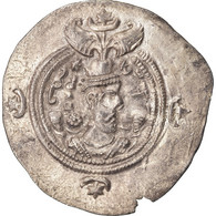 Monnaie, Royaume Sassanide, Chosroès II, Drachme, ZR (Zarang), TTB, Argent - Orientales