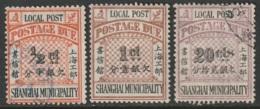 China Shanghai Sc J14-J15,J20 Postage Due Used/MH - China