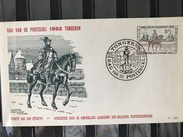 FDC 1212 DAG V/D POSTZEGEL UIT 1962 RODAN 100 F STEMPEL TONGEREN - FDC