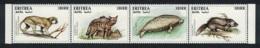 Eritrea Monkey Dugong Aardwolf Rat Endangered Animals 4v Strop MNH SG#323-326 CV£10+ - Eritrea