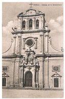 B3716 - Siracusa, Ferla Chiesa Di S. Sebastiano, Viaggiata 1940 - Siracusa