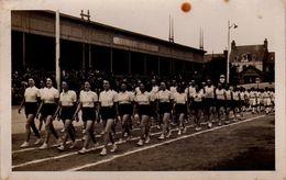 S25-019 Carte Photo - Défilé Sportif D'athlètes Féminines De L'académie De Rennes - Rennes