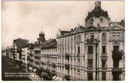 WARSZAWA UL MARSZALKOWSKA - Cartes Postales